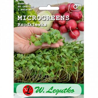 Microplante - Ridiche roșie Legutko imagine 7