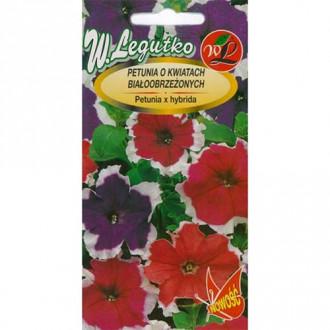 Petunie curgătoare F2, mix multicolor Legutko imagine 5