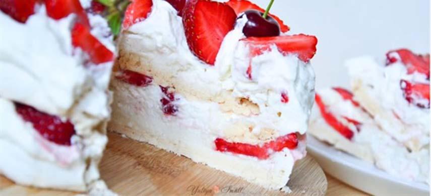 Cheesecake cu fructul pasiunii